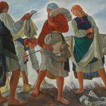 "Серебрякова З.Е. ""Беление холста"" 1917"