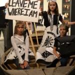 Юные художники - участники выставки