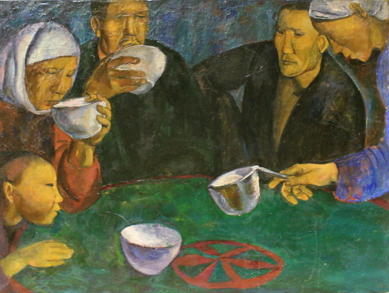 "Татьяна Назаренко ""В юрте"" 1966"