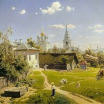 """В.Д. Поленов """"Московский дворик"""" 1878"""