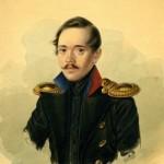 "Александр Клюнгер ""Портрет М.Ю. Лермонтова"" 1838"