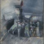 """Александр Лабас """"Октябрь"""" 1928"""