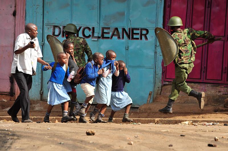 """Кевин Мидиго """"Оппозиция протестует"""" Кения"""