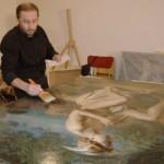 Первая выставка МГАХИ в Институте реставрации.