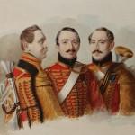"Александр Клюнгер ""Портрет трубачей лейб-гвардии Гусарского полка"" 1838"