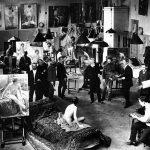 Императорская Академия художеств, Санкт-Петербург. Живописная мастерская профессора В.Е. Маковского. 1913