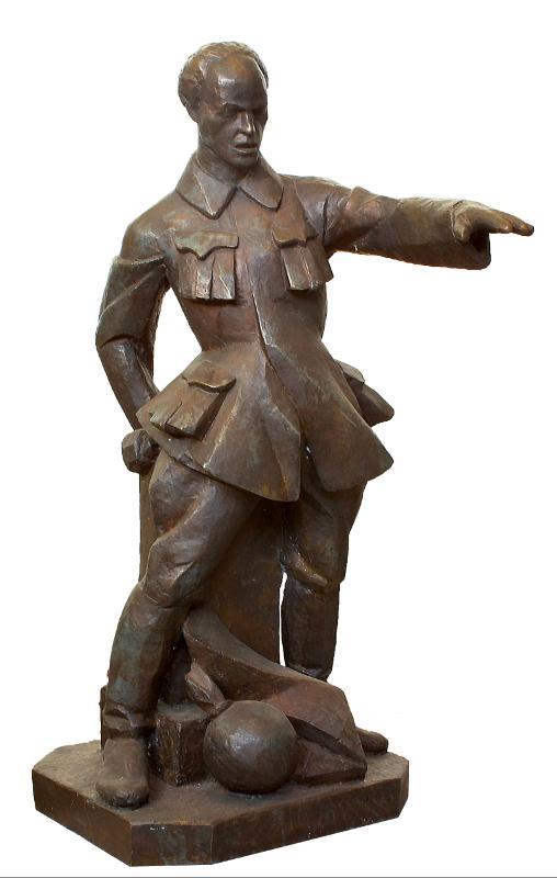 "Мухина В.И. ""Проект памятника В.М. Загорскому"" 1921"