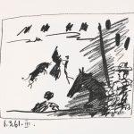 """Пабло Пикассо """"Игра плаща"""""""