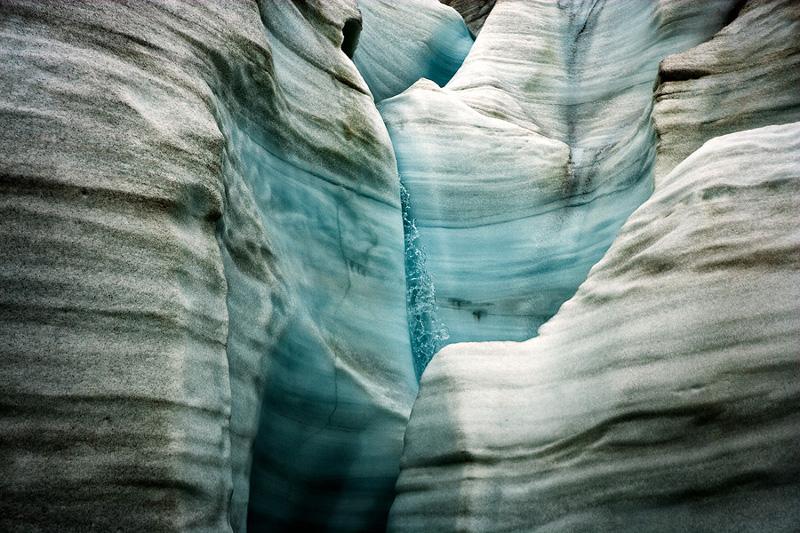 """Себастьян Коупленд """"Ледник на фьорде Отто, Канадская Арктика 2008"""