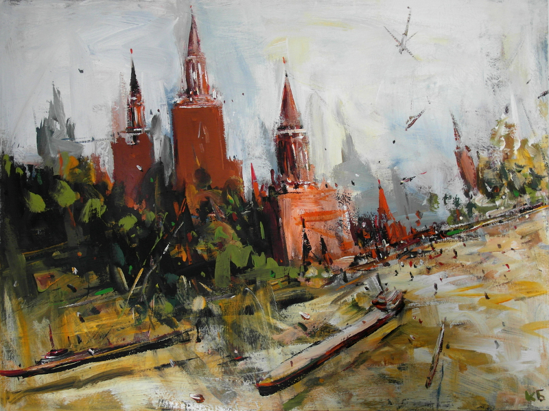 "Константин Батынков ""В Кремль"" 2012"