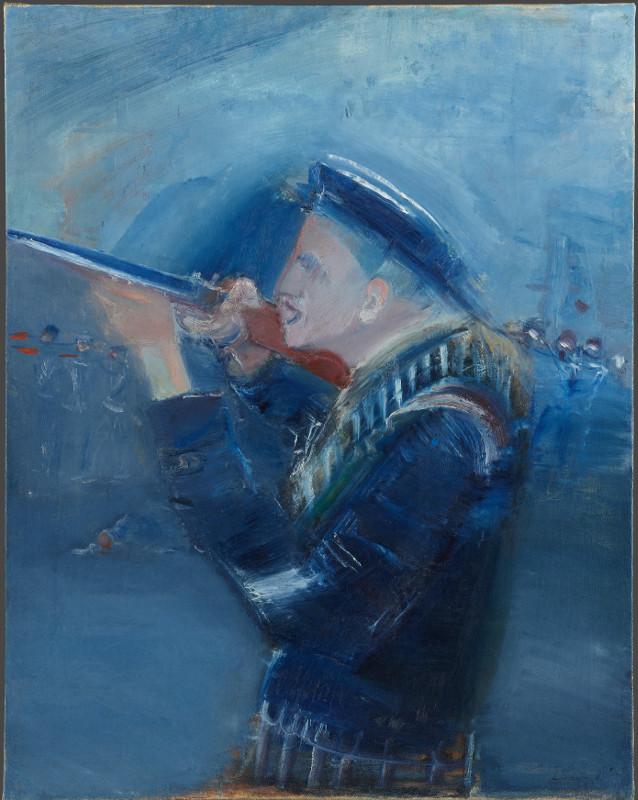"""Александр Лабас """"Матрос"""" 1930"""