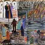 """Анна Дикарская (1893–1982) """"Детство Ивана Грозного"""" Дзержинск, 1973"""