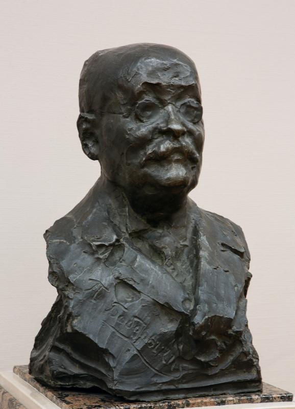 """Н.А. Андреев """"Портрет П.Д.Боборыкина"""" 1904"""