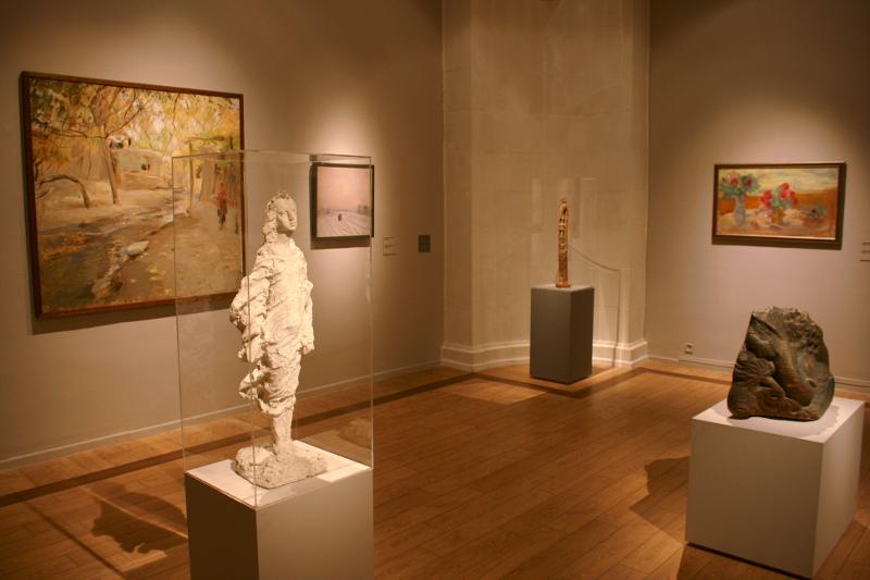 Экспозиция выставки в ММОМА