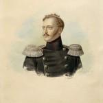 """Александр Клюнгер """"Портрет императора Николая I"""" 1836"""