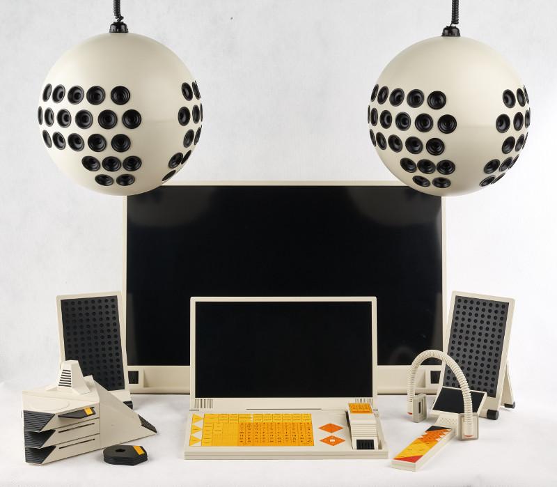Суперфункциональный информационно-коммуникационный комплекс «СФИНКС» (макет) 1986