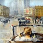 """Ю.И. Пименов """"Новая Москва"""" 1937"""