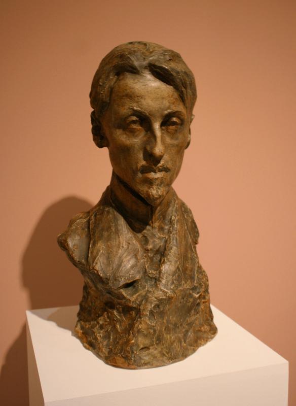 "Н.А. Андреев ""Портрет Б.К. Зайцева"" 1905-1906"