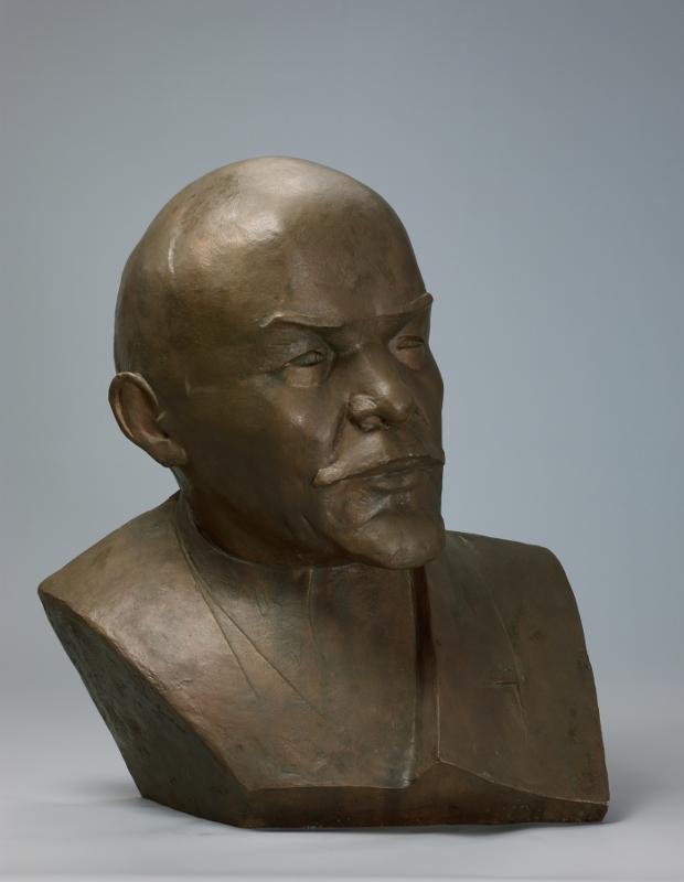 """Альтман Н.И. """"Портрет В.И. Ленина"""" 1920"""