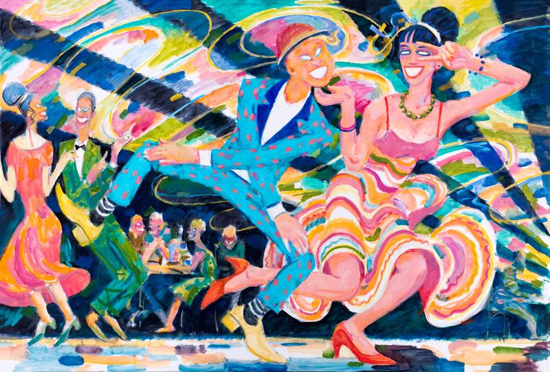 "Алексей Каллима ""Из серии ""Танцующие призраки"". #5"" 2017"