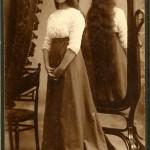 Вера Вильковиская. Фотография 1909 года.