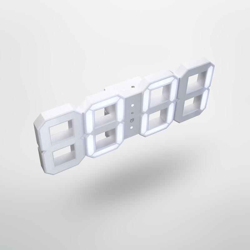 Часы White & White Clock (Дизайнер Вадим Кибардин, 2011)