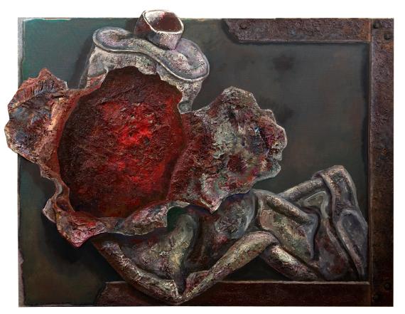 Андрей Гросицкий «Тюбик разодранный» 2006 Предоставлено Галереей pop/off/art.