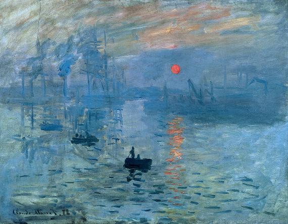Клод Моне «Впечатление. Восход солнца».