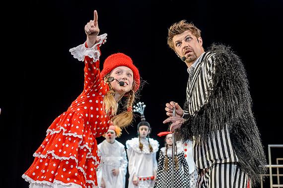 Детский музыкальный театр юного актера вновь покажет мюзикл «Пеппи Длинныйчулок».