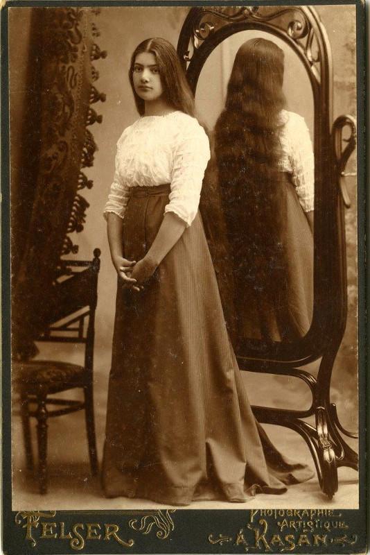 Вера Вильковиская. Фотография 1909 года