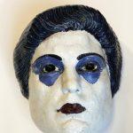 """Н.А. Андреев """"Декоративная маска (с портретными чертами М.Н. Германовой)"""" 1914-1915"""