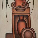 """Дмитрий Краснопевцев """"Композиция"""" 1971"""