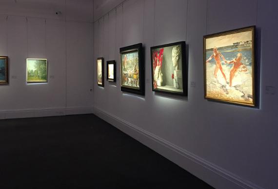 Закрытый просмотр предаукционной коллекции Сотбис в Лондоне.