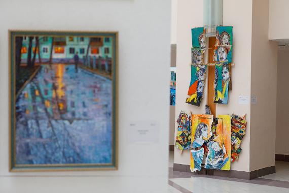Экспозиция выставки «Московские отражения»