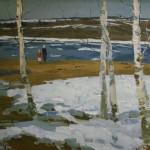 """В.Н. Гаврилов """"Последний лёд"""" 1965"""