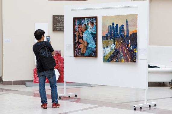 Выставка «Московские отражения»