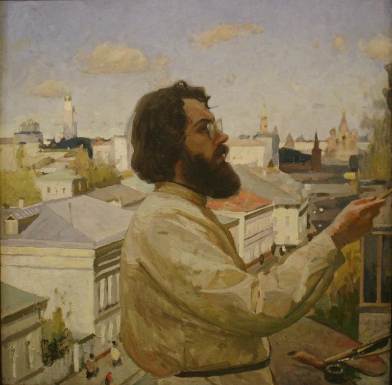 """С. Смирнов """"Автопортрет"""""""