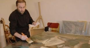 ГосНИИР и МГАХИ имени В.И. Сурикова. Работы студентов мастерской реставрации станковой живописи.