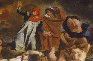 Лекция Елены Волжиной «Концепция греха и добродетели у Данте».