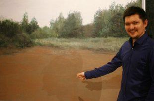 Егор Плотников. Проект «Передвижной музей одной картины».