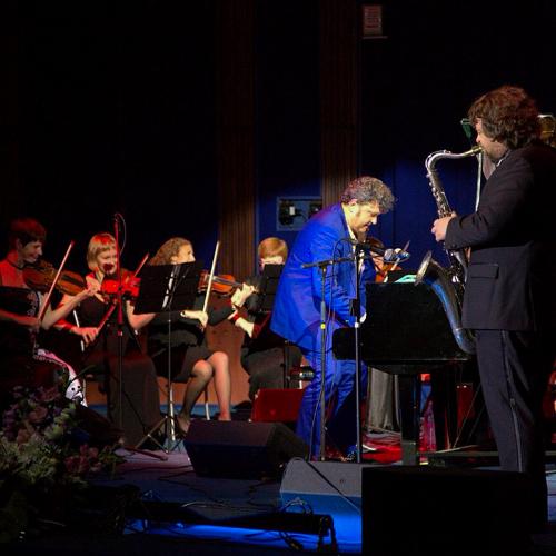 Концерт Леонида Пташки и Стаса Майнугина.
