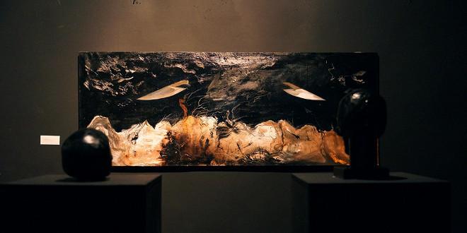 Выставка Кирилла Жилкина «Кто я?». Цветущая сложность и сад камней.