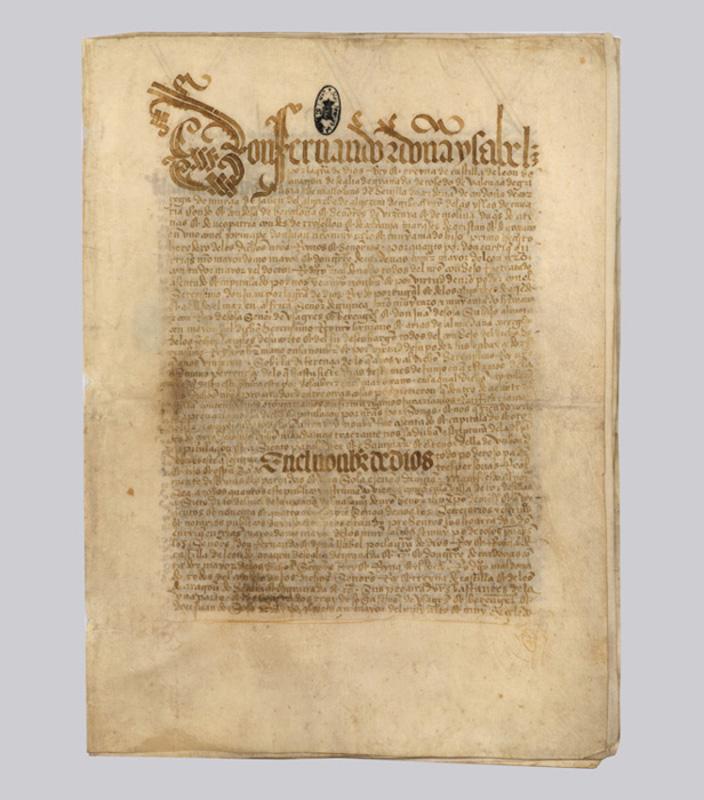 Тордесильясский договор. Испания, Тордесильяс, 7 июня 1494 года