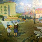 """Виталий Видусов """"Ногинск. Весна"""" 1958"""
