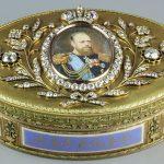 Табакерка. Мастер Д. Реландер. 1824-1825