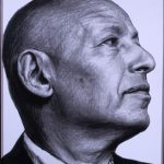 """Д. Врубель и Ко """"Портрет Иосифа Бакштейна"""" 2008"""