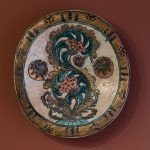 """А.Я. Головин """"Блюдо с растительным орнаментом"""" 1898–1899"""
