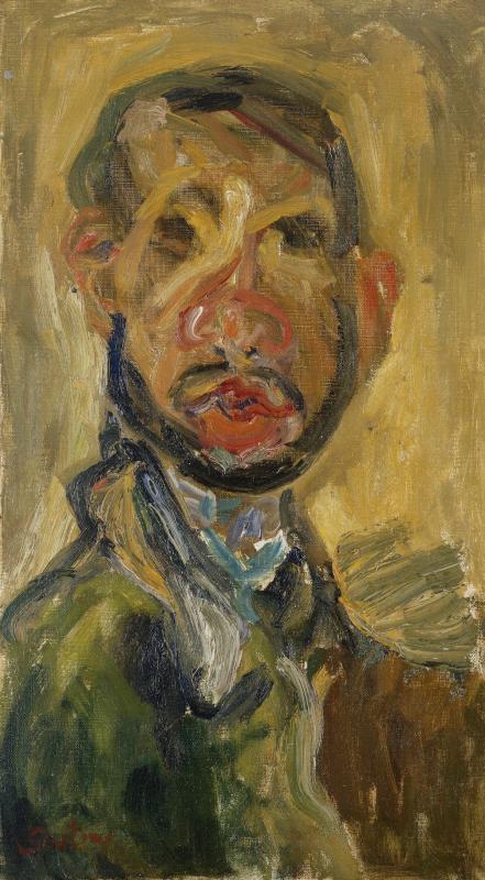 """Хаим Сутин """"Автопортрет"""" 1920–1921"""