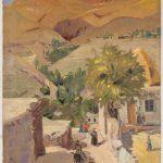 """М. Сарьян """"Рассвет в деревушке в Лусаване"""" 1962"""
