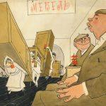 К 95-летию. Графика, рисунки, карикатуры.